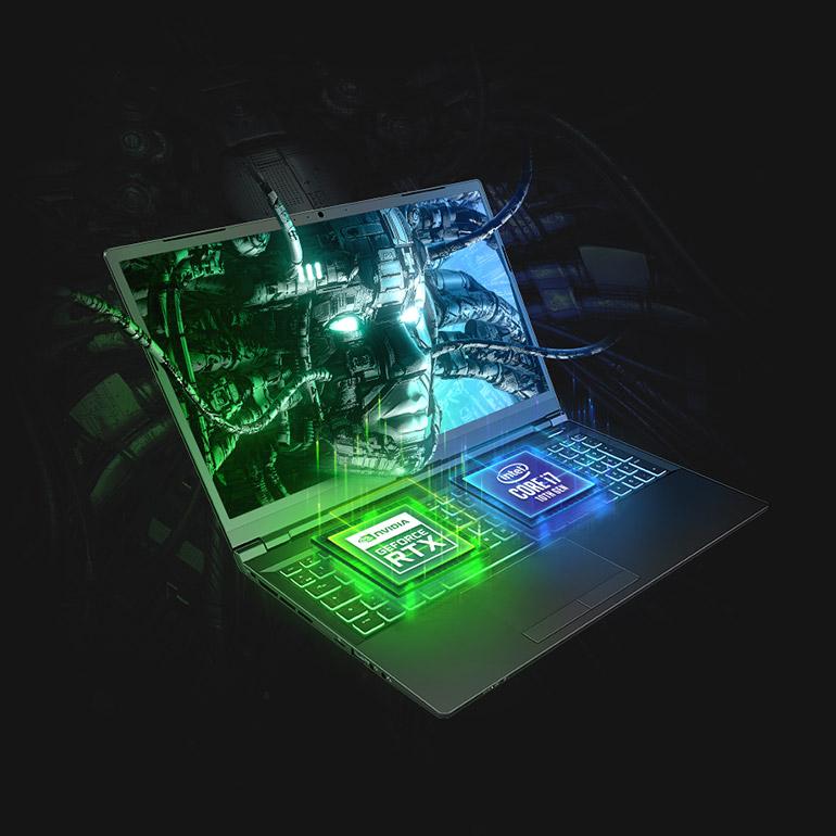 XMG PRO 15 - Intel Core i7 and NVIDIA RTX 30 Series