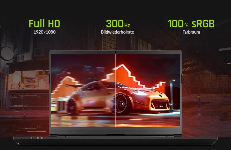XMG PRO 15 - 300 Hz Display
