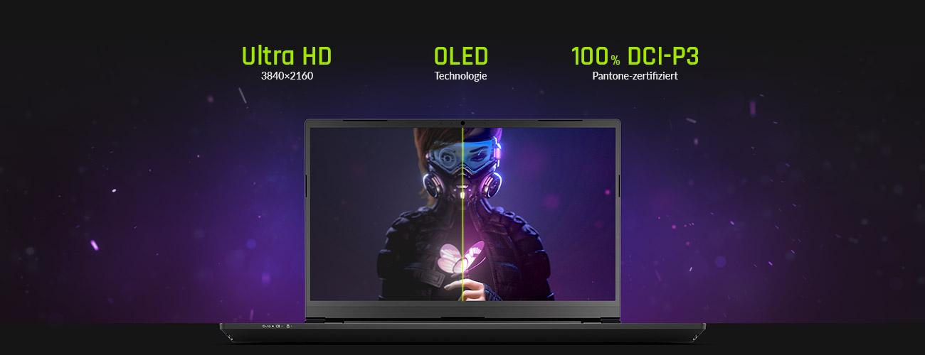 XMG PRO 15 - 4k UHD OLED Display
