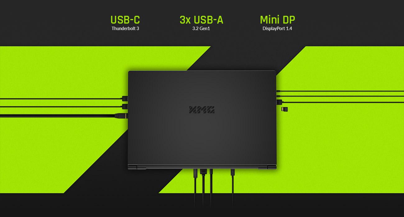 XMG PRO 15 - Ports