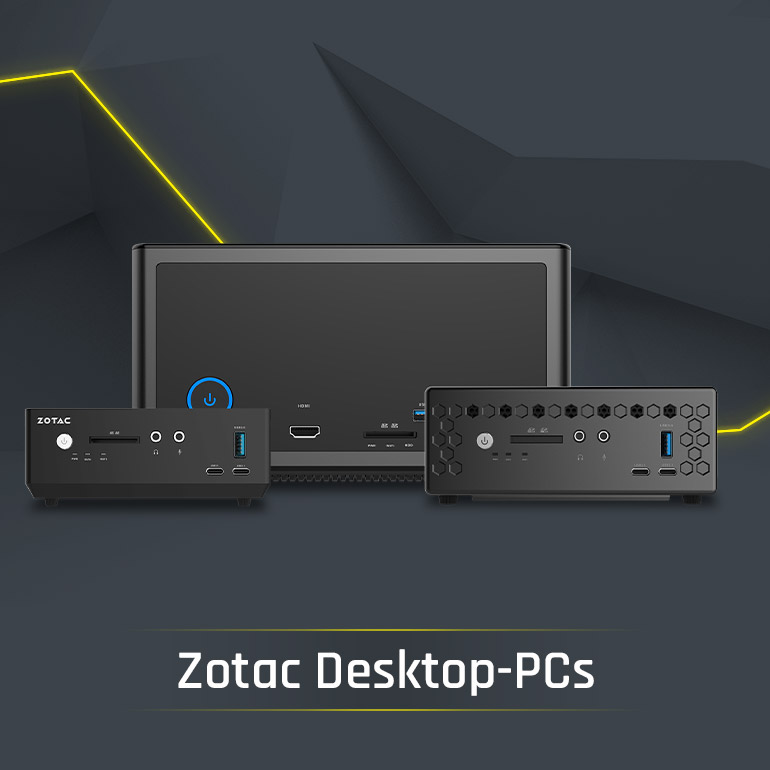 Bestware ZOTAC Desktop PCs